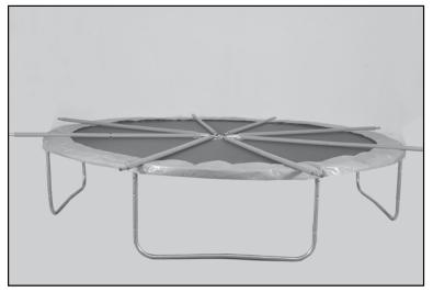 Montants trampoline